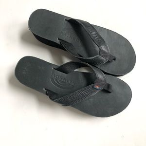 Rainbow Sandals Riviera Platform Thong Flip Flops
